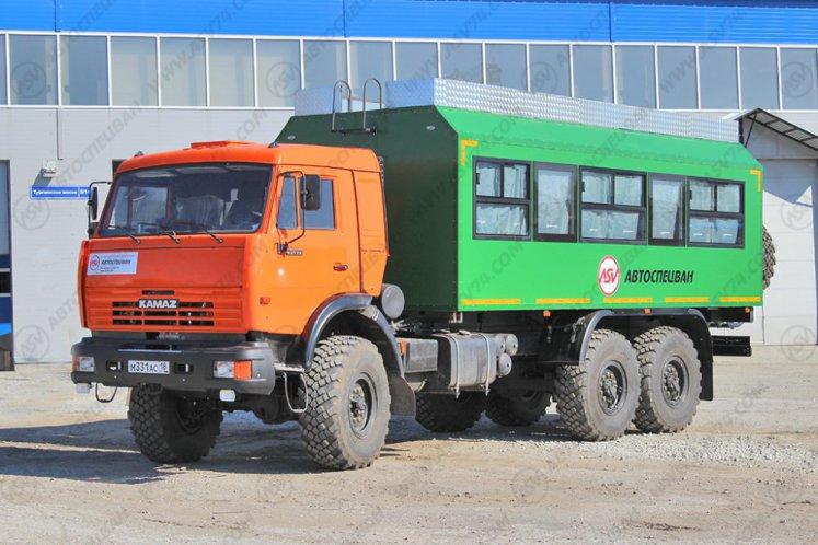Фото: Вахтовый автобус АСВ 7721 LUXE КАМАЗ 43118-3078-46, 26 мест