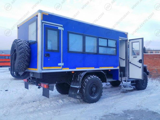 Фото: Вахтовый автобус Урал NEXT43206-6151-71(Е5) Г38, 22 места