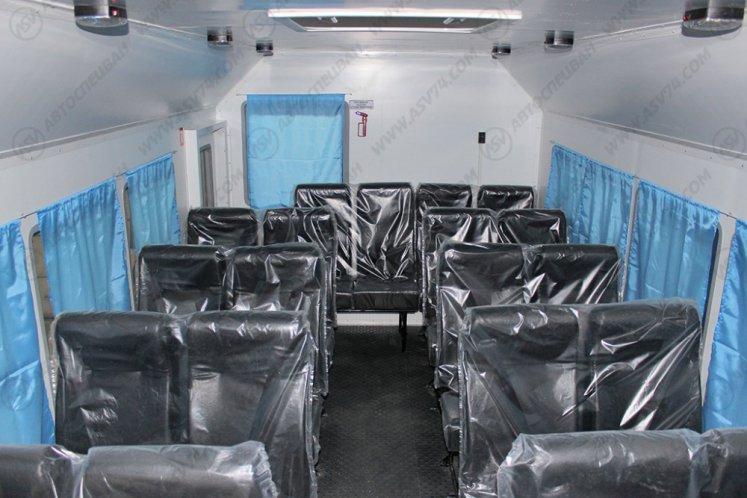 Фото: Вахтовый автобус КАМАЗ 43118-3049-46, 22 места (ЖД габарит)