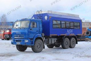 Фото: Автобус вахтовый АСВ 7721 LUX, 24 мест КАМАЗ 43118-3078-46