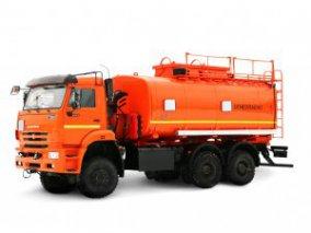 Фото: Автоцистерна для светлых ГСМ (бензовоз) АЦ-20 КАМАЗ-6522