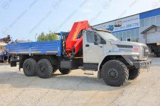 Фото: Бортовой автомобиль Урал 4320 NEXT (капотный) с КМУ ИМ-320