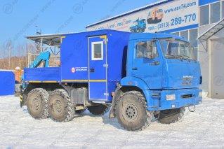 Фото: ГПА КАМАЗ 5350-3014-42 с КМУ ИМ-25