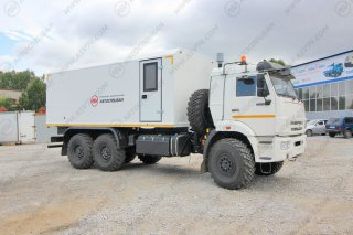 Фото: Автомобиль для взрывчатых веществ, КамАЗ-43118-3027-50