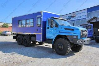 Фото: Вахтовый автобус с грузовым отсеком Урал NEXT4320-6952-72 (Е5) Г38, 20 мест