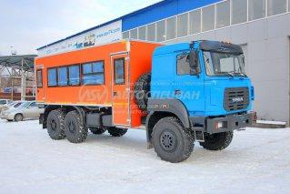 Фото: Вахтовый автобус Урал NEXT 4320-4971-80, 24 места