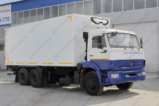 Фото: Фургон изотермический с ХОУ и Гидробортом КамАЗ 65115-3094-19