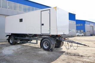 Фото: Фургон лаборатория на прицепе МАЗ 837810
