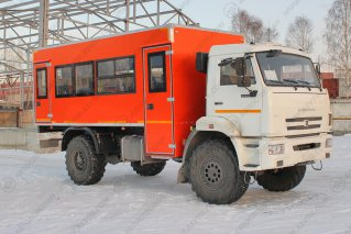 Фото: Вахтовый автобус КАМАЗ 43502