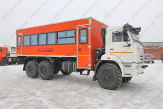 фото: Вахтовый автобус КАМАЗ 43118-3027-50, 28 мест
