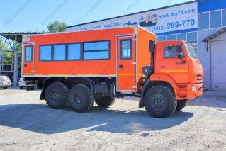 Фото: Вахтовый автобус АСВ 7721Т2-00 КАМАЗ 43118-3011-50, 24 места
