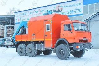 Фото: АРОК КАМАЗ 43118-3027-46 с КМУ ИМ-95