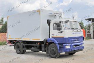 Фото: Изотермический фургон КамАЗ 43253-3010-28 (R4) c ХОУ и гидробортом