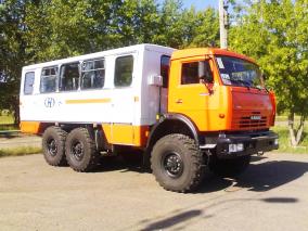 Фото: Вахтовый автобус НЕФАЗ-4208-011 КАМАЗ 5350-42 (Евро-5), 22 места