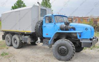 Фото: ППУА 1600/100 с на шасси Урал 4320-1912-60Е5