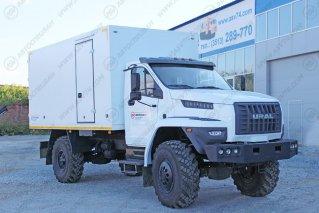 Фото: Изотермический фургон на шасси Урал NEXT 43206-6151-71