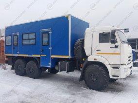 Фото: Вахтовый автобус с кухней, КАМАЗ 43118-3027-50, 16 мест