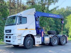 Фото: Седельный тягач КАМАЗ 65206 с КМУ DY SS1956