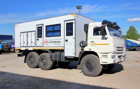 фото: Вахтовый автобус КАМАЗ 43118-3027-50, 12 мест с грузовым отсеком
