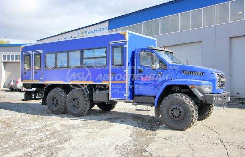 фото: Вахтовый автобус с грузовым отсеком Урал NEXT4320-6952-72 (Е5) Г38, 24 места