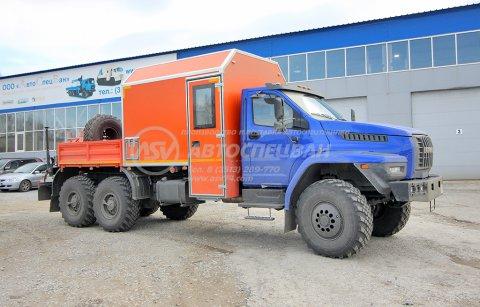 фото: Мастерская передвижная c КМУ Palfinger PK 4200 на шасси Урал NEXT 4320-6952-72