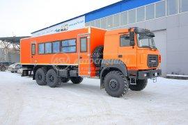 фото: Вахтовый автобус Урал NEXT 4320-4971-80, 24 места с грузовым отсеком