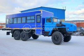фото: Вахтовый автобус Урал 4320-1912-60, 28 мест
